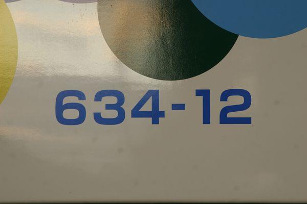 634-12車番
