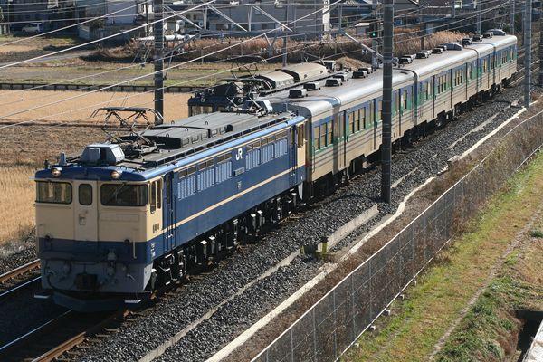 EF651105+キハ38