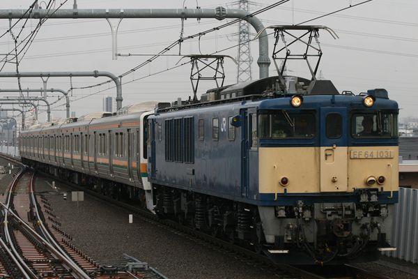 EF641031+211系 N53編成
