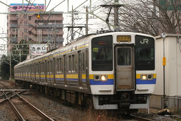 211系 マリ508編成