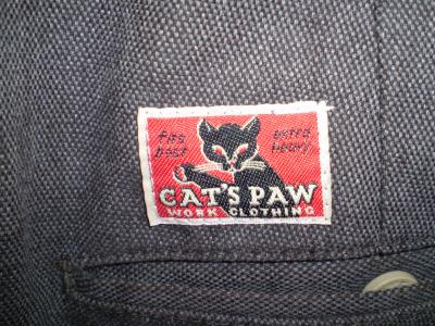 cats paw cropped pants tag