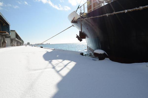 釧路の港です