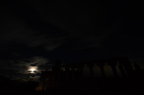 釧路湿原の夜