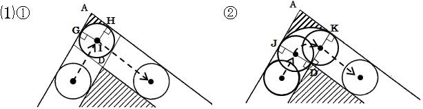 東大寺2014 3の1解答図1