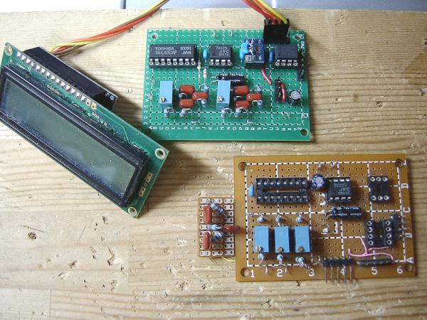 2チャンネル電圧計・1チャン