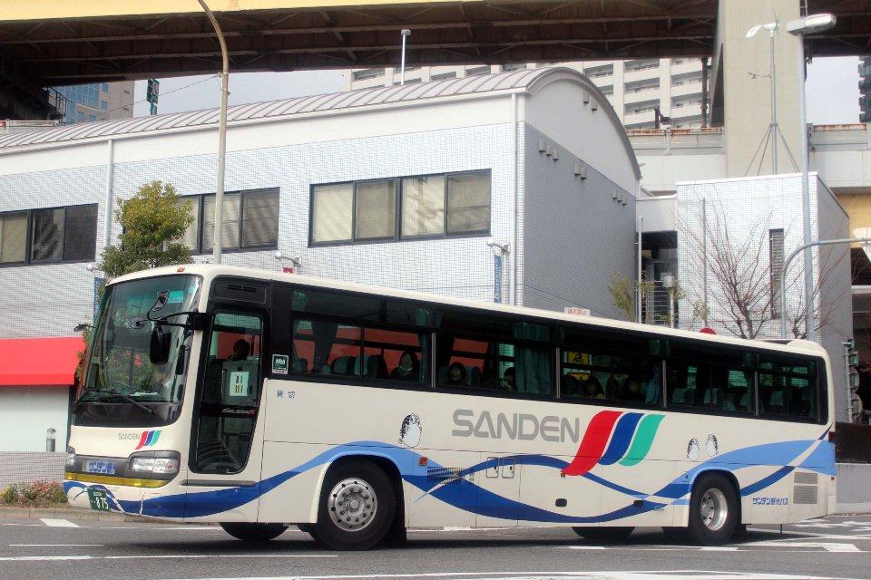 サンデン観光バス か875