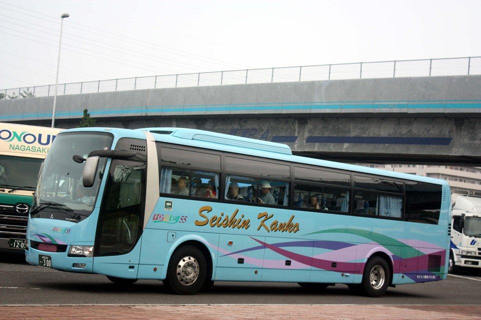セイシン観光バス あ300