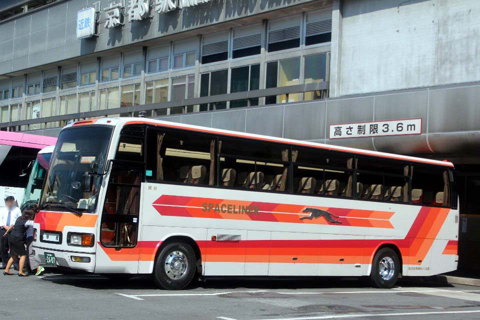 帝産観光バス滋賀 か2607