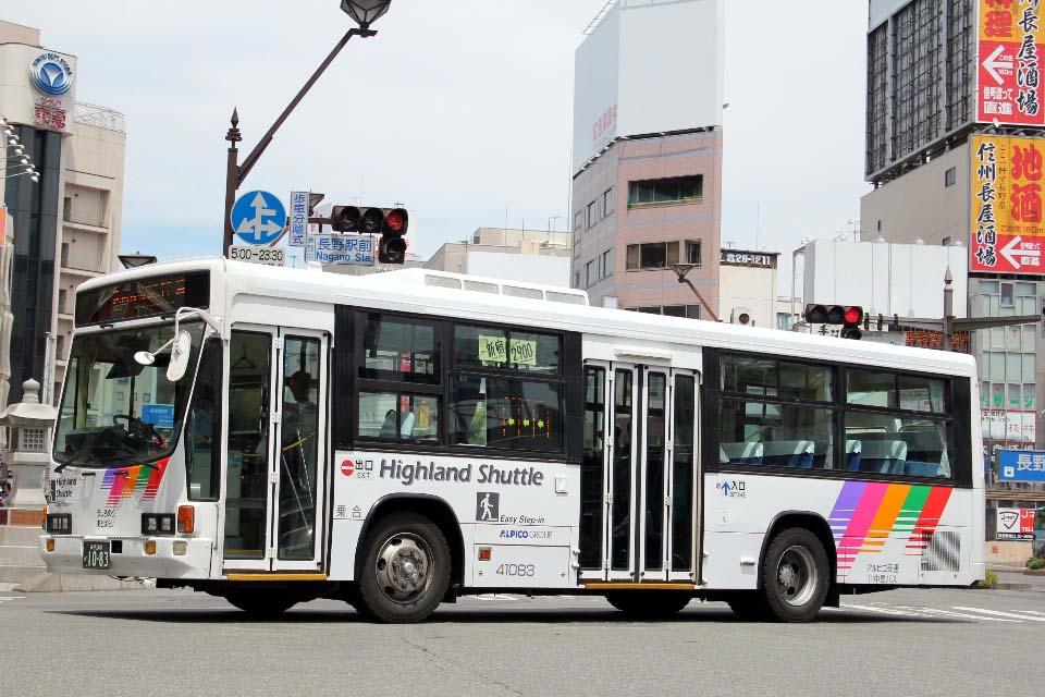 川中島バス 41083