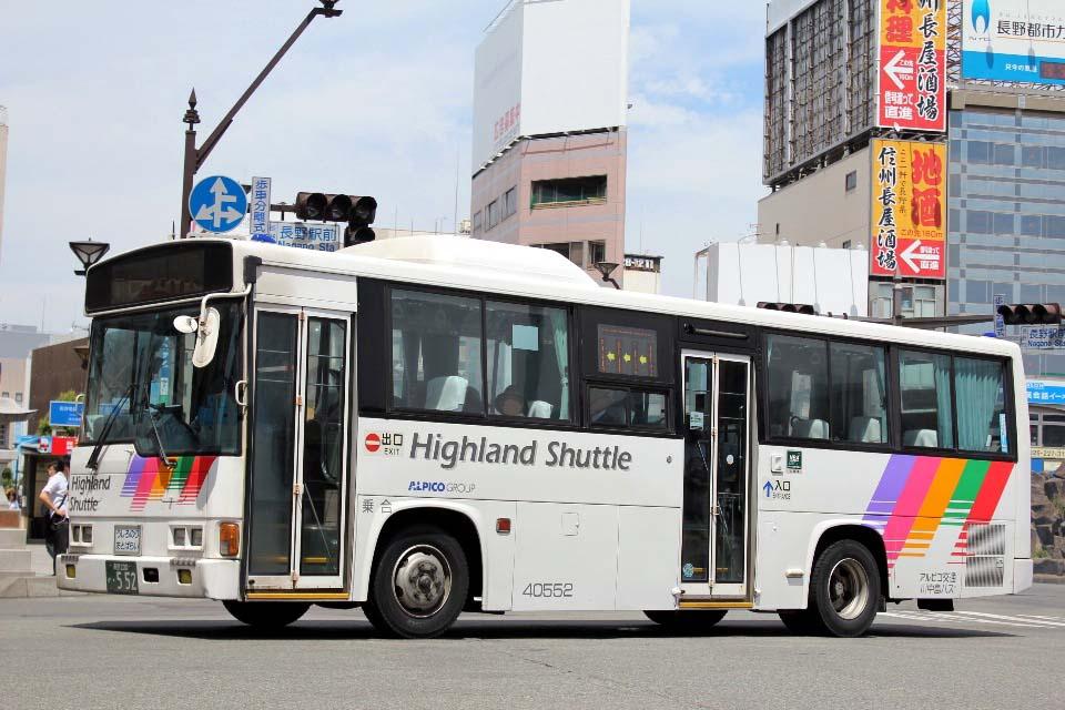 川中島バス 40552