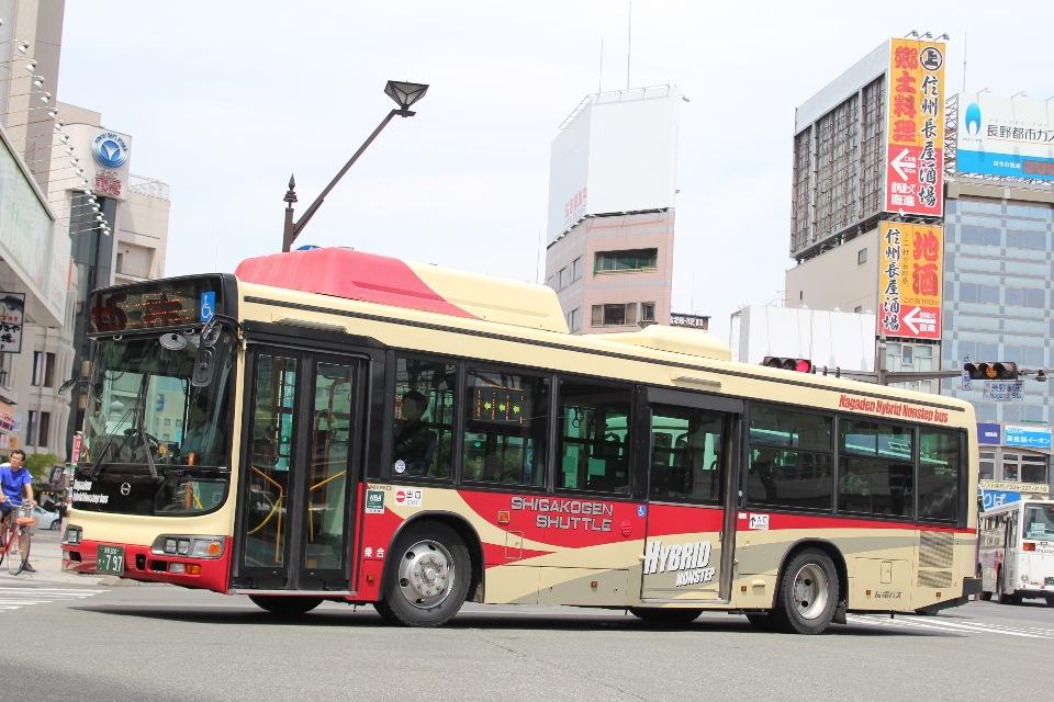 長電バス か797
