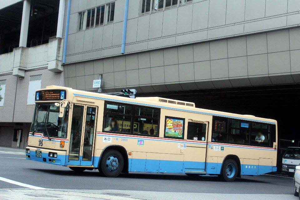 阪急バス 2863