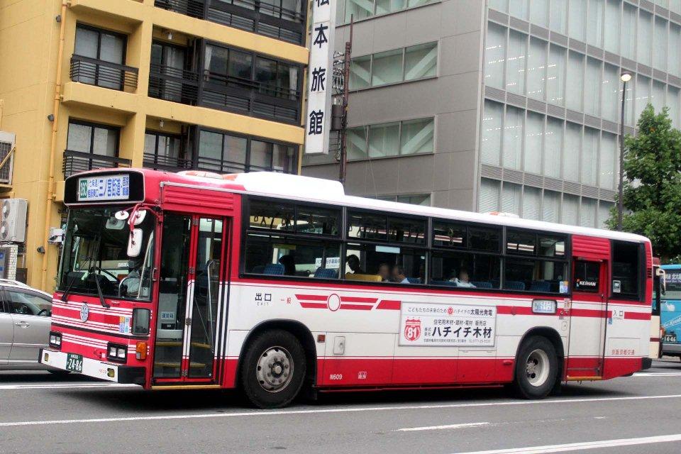 京阪京都交通 N609