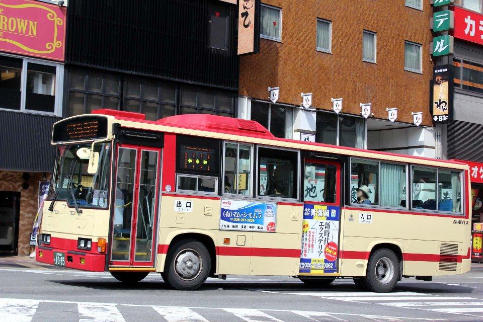 長電バス か1085