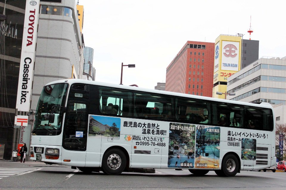 鹿児島交通観光バス か428