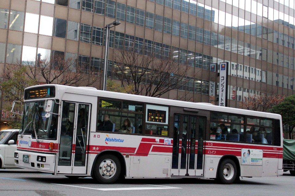 西日本鉄道 7301