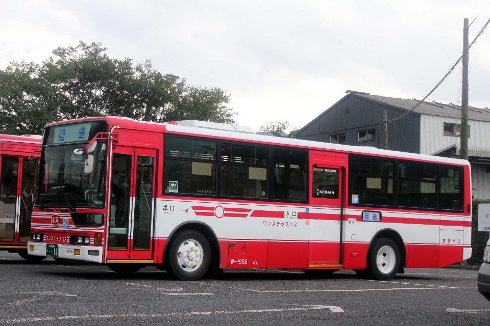京阪バス W1950