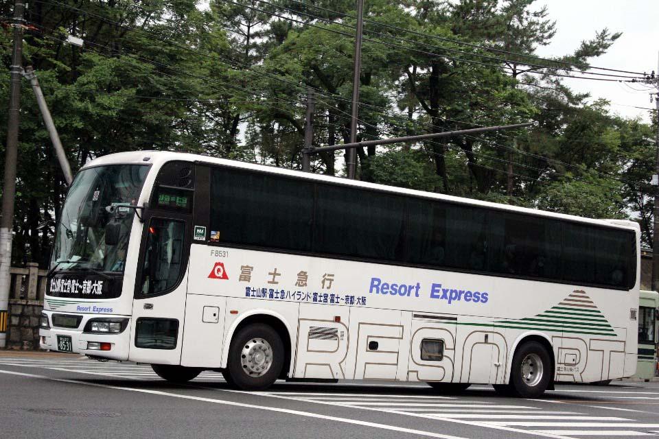 富士急山梨バス F8531