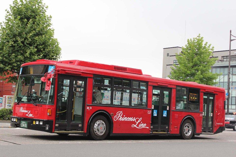 プリンセスラインバス か2481