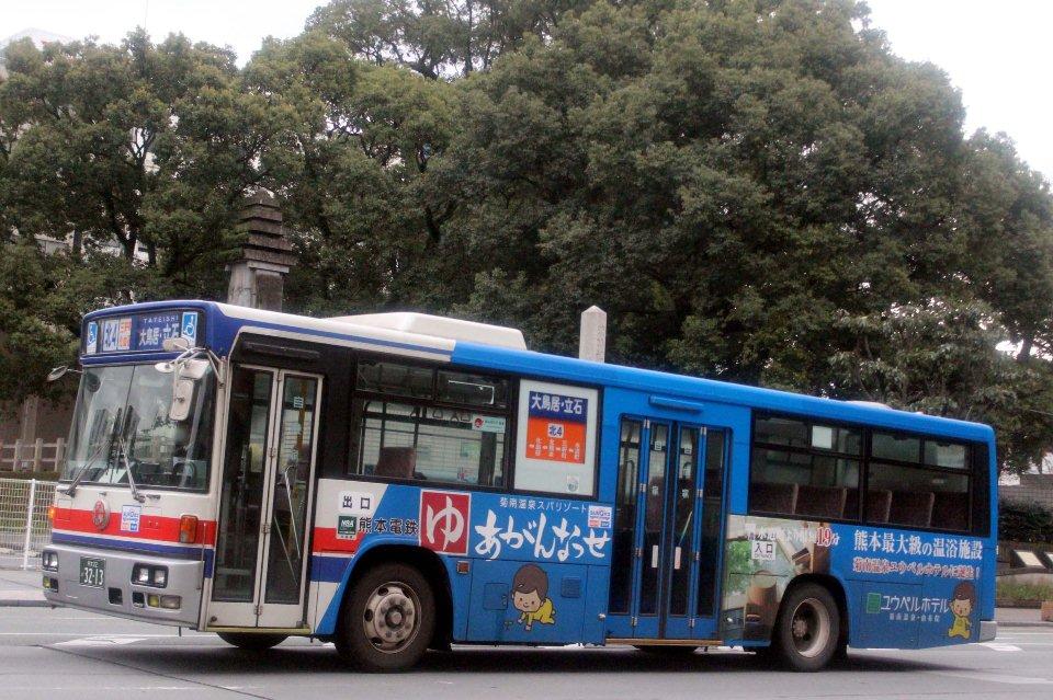 熊本電鉄 か3213