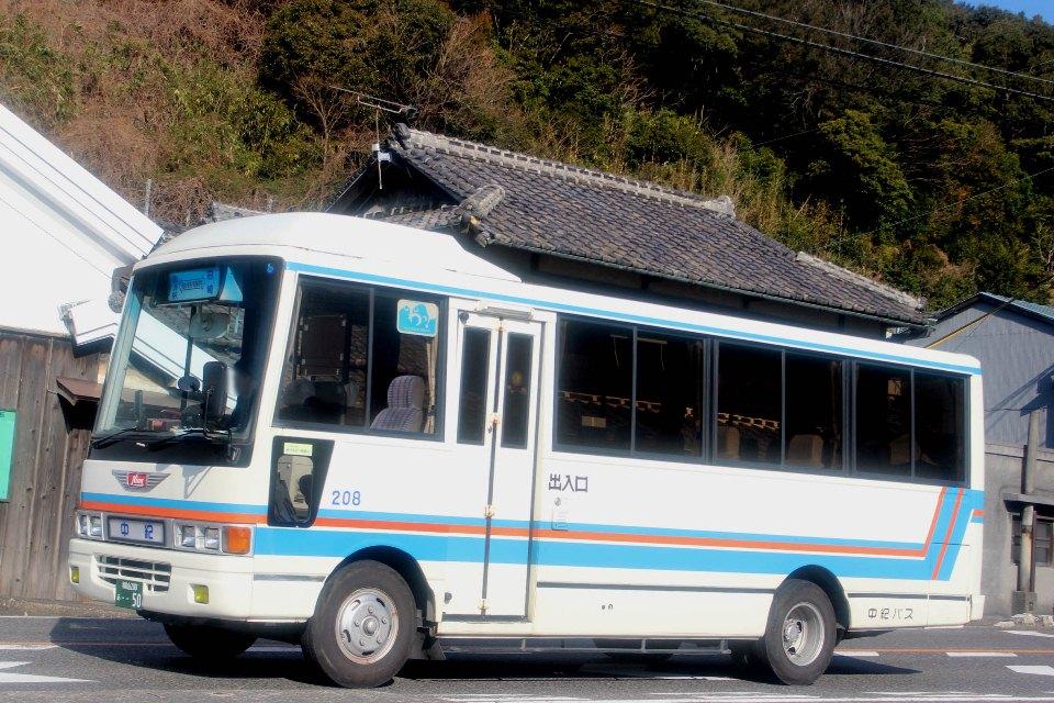 中紀バス 208