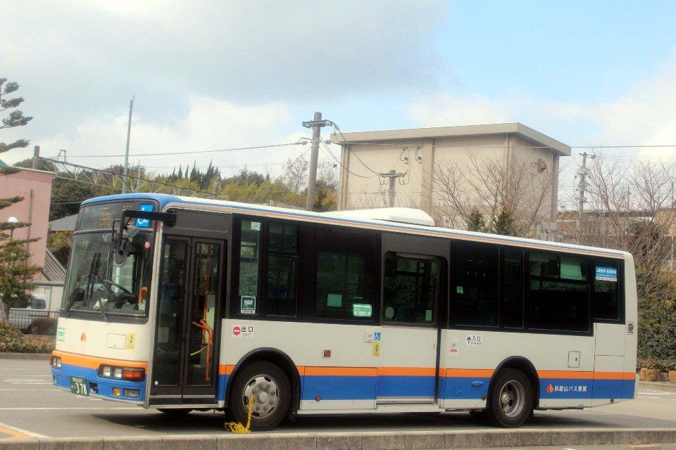 和歌山バス那賀 か378