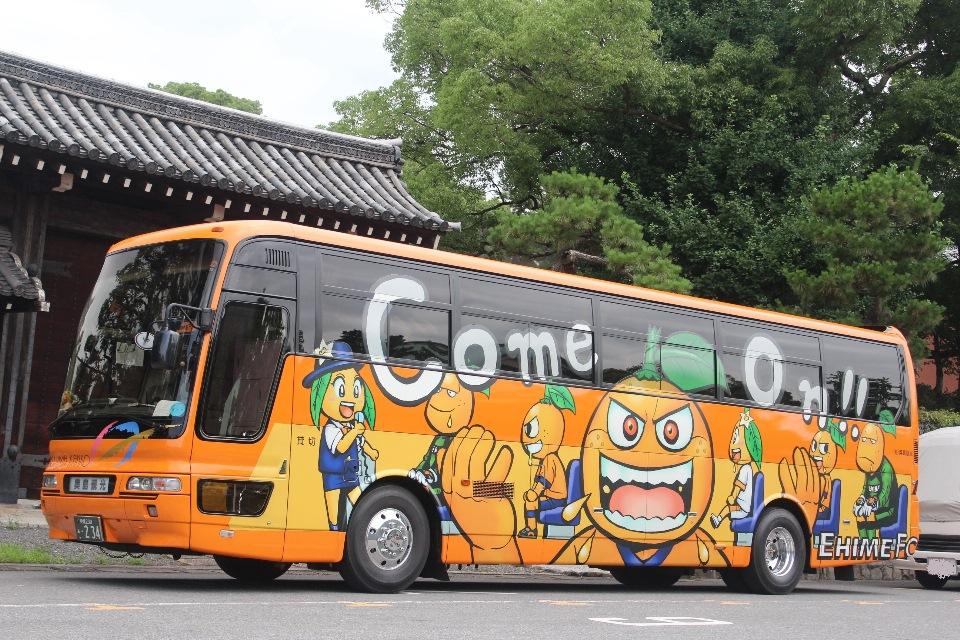 奥島観光バス あ234