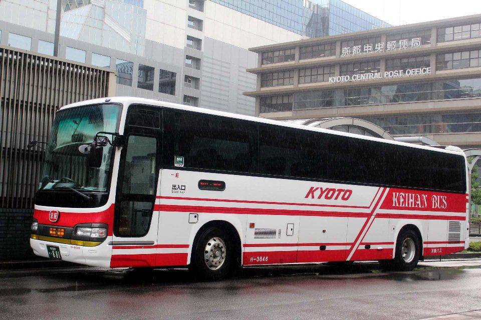 京阪バス H3846