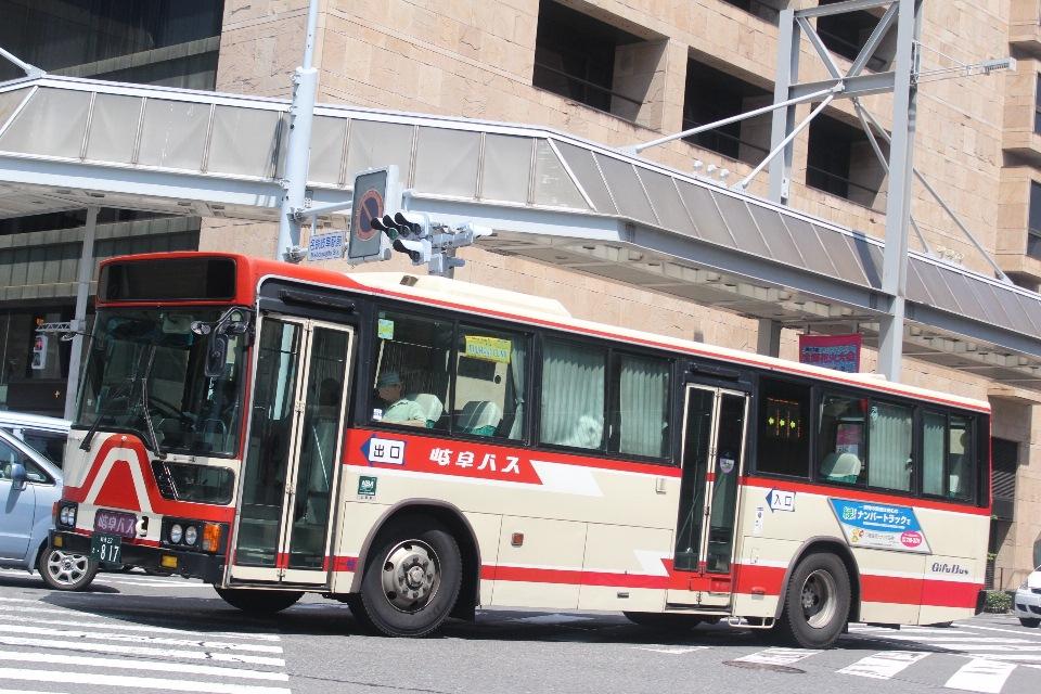 岐阜バス き817