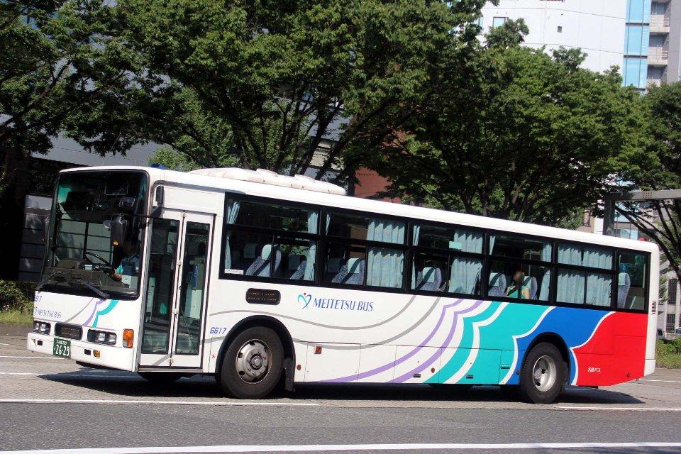 名鉄バス 6617
