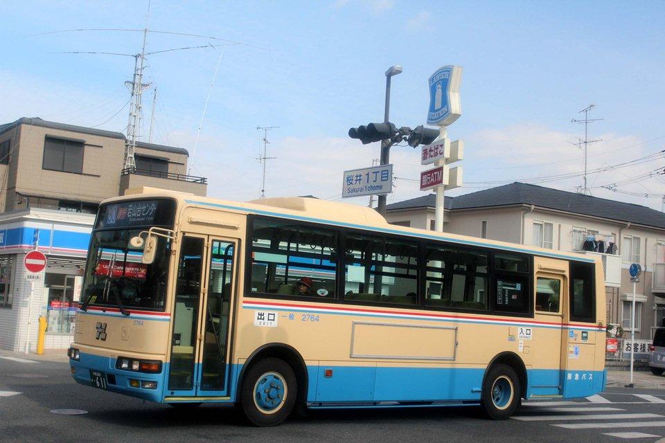 阪急バス 2764