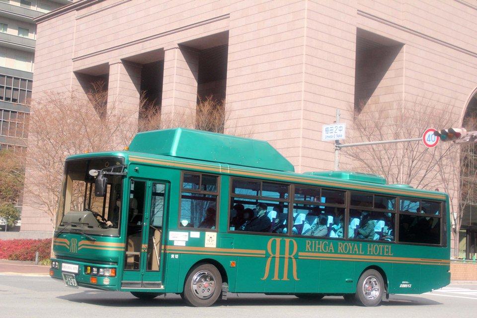 北港観光バス か1203