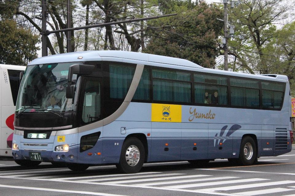 夢湖観光バス か411