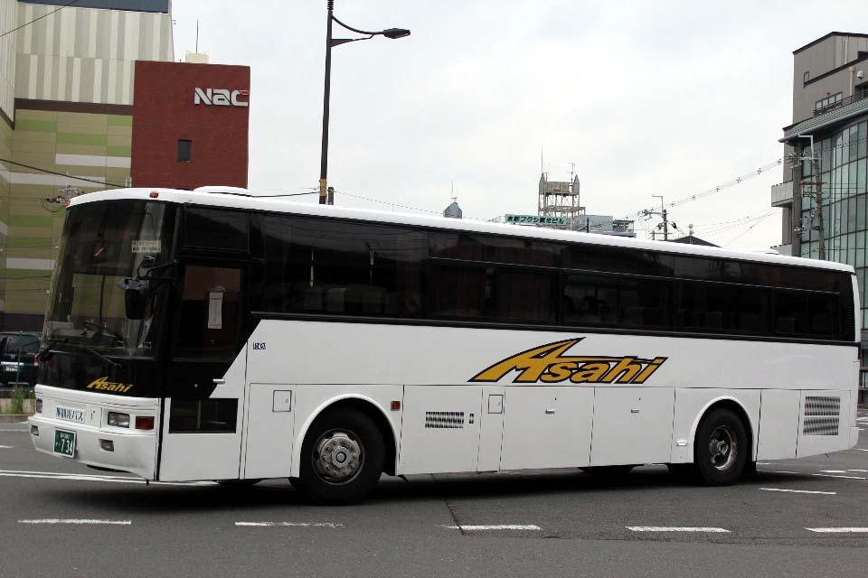 旭観光バス か734