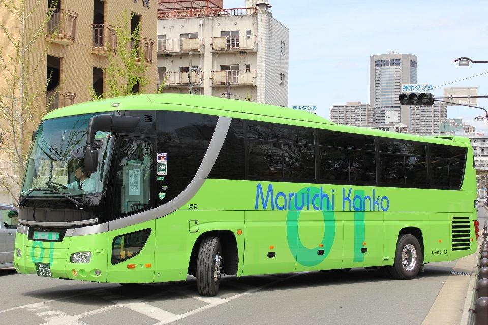 丸一観光バス あ3333