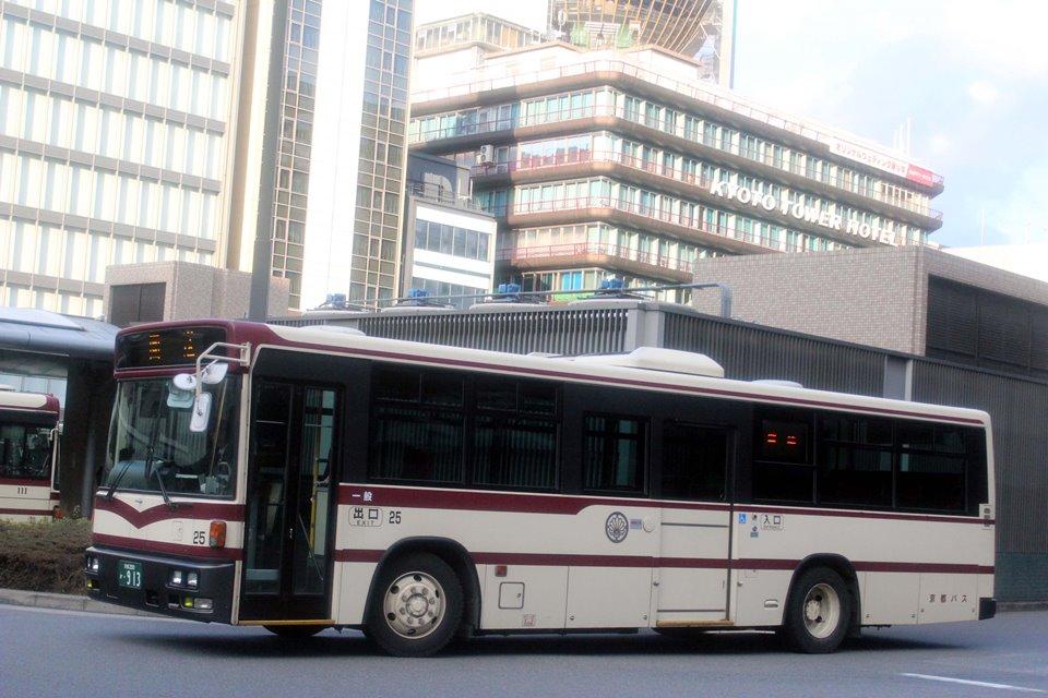 京都バス 25