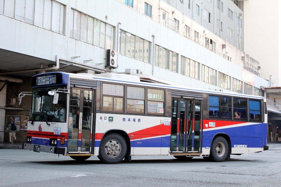 熊本電鉄 か745