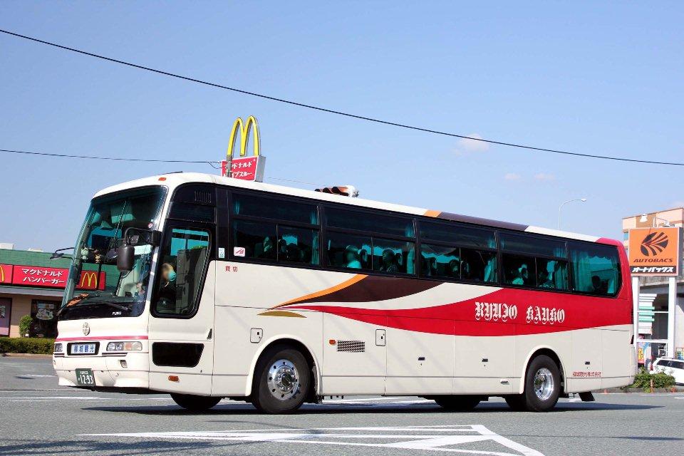 柳城観光バス か1293