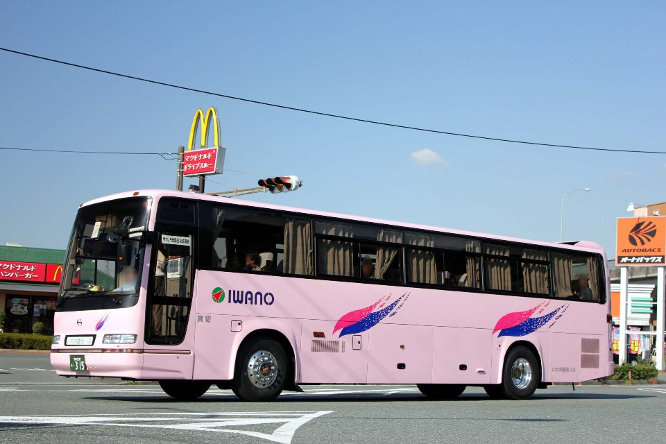いわの観光バス あ315