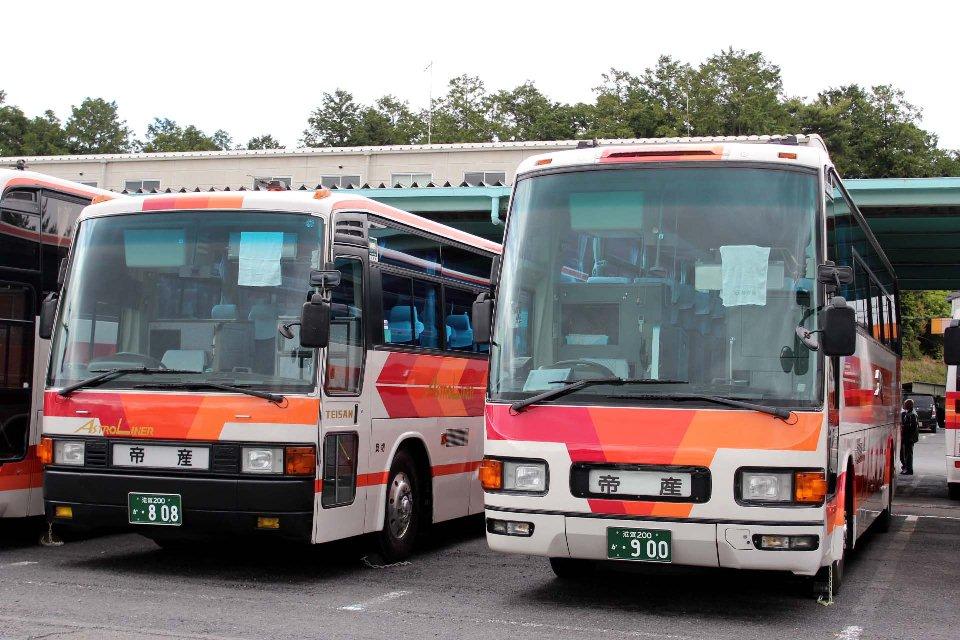 帝産観光バス滋賀 か808