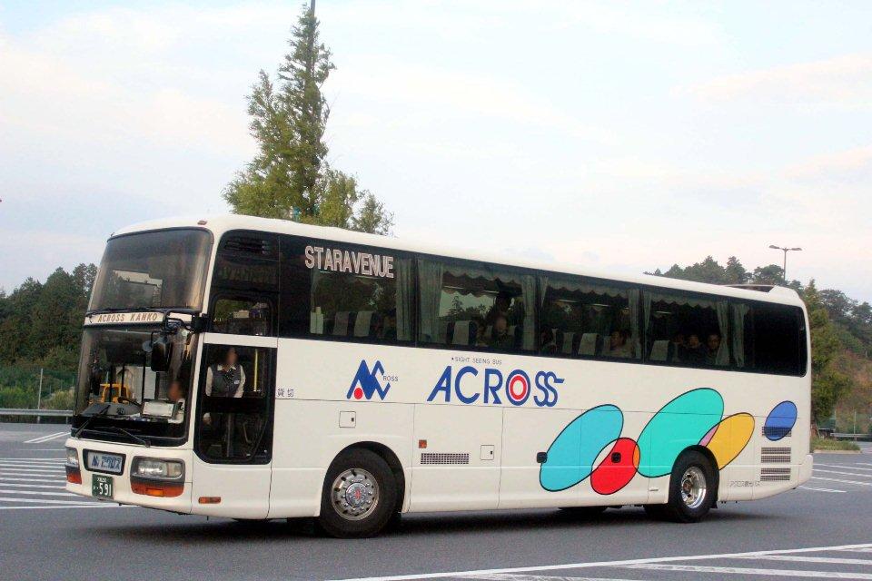 アクロス観光バス か591