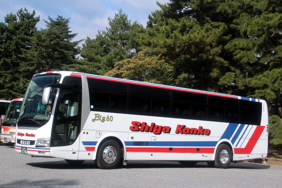 滋賀観光バス か2306