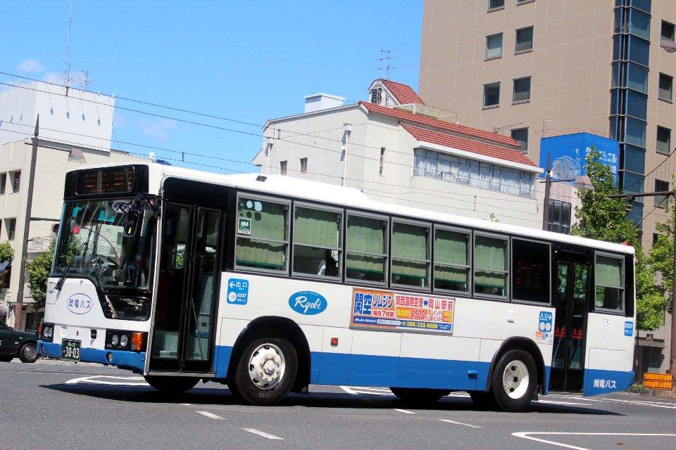 岡電バス か3003