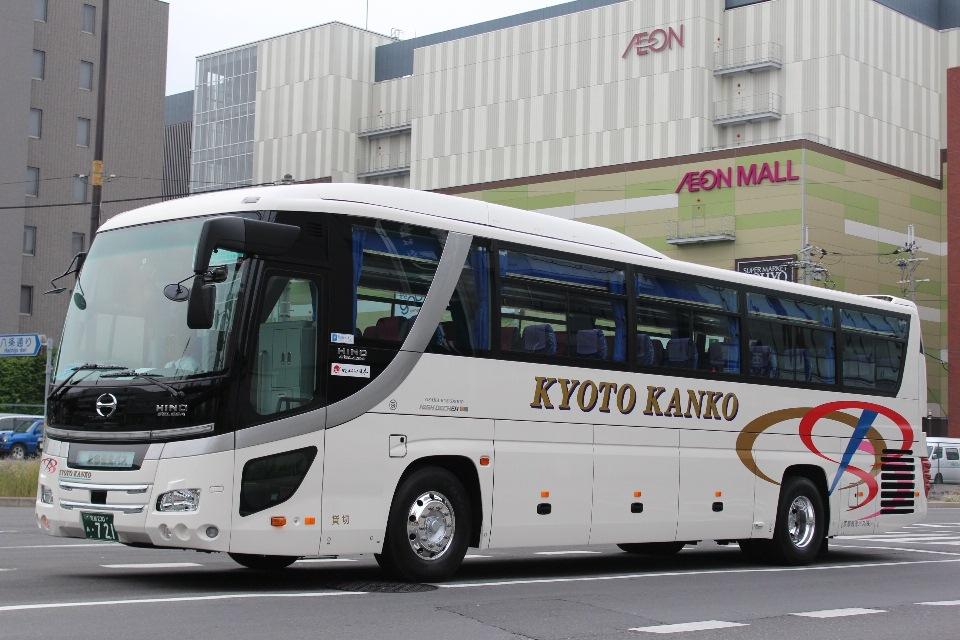 京都観光バス 721