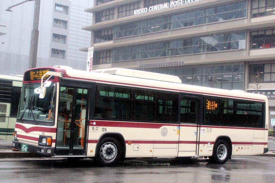 京都バス 124