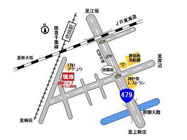 藤和ライブタウン地図