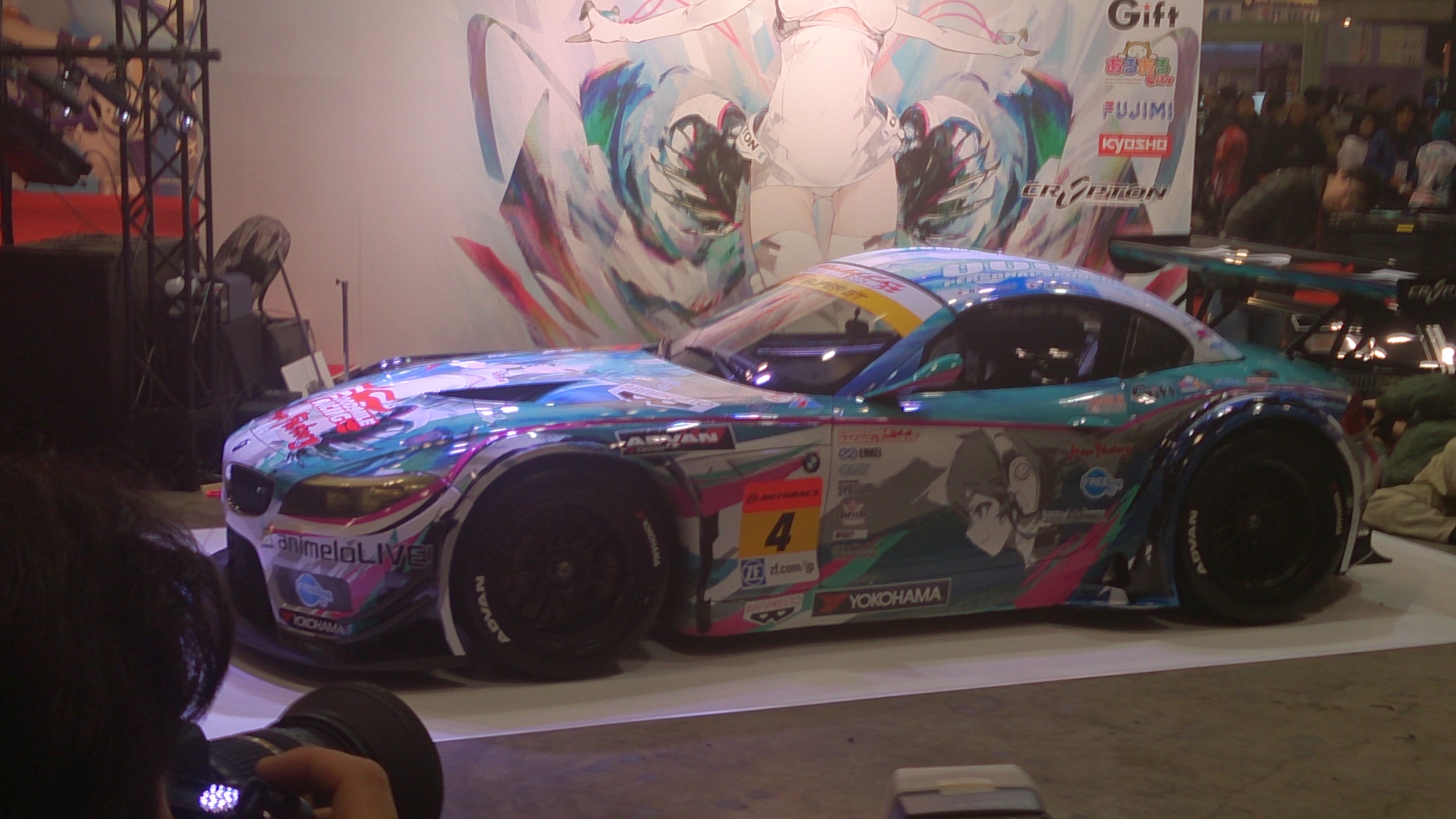GSR 初音ミク BMW 2014