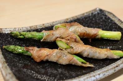 えごま味噌の肉巻き