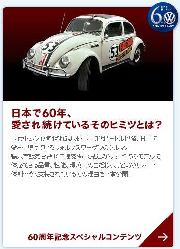 VW 60周年歴史