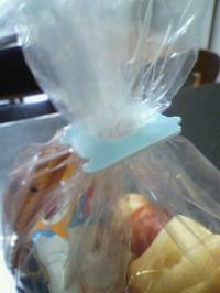 食パンのプラスチック